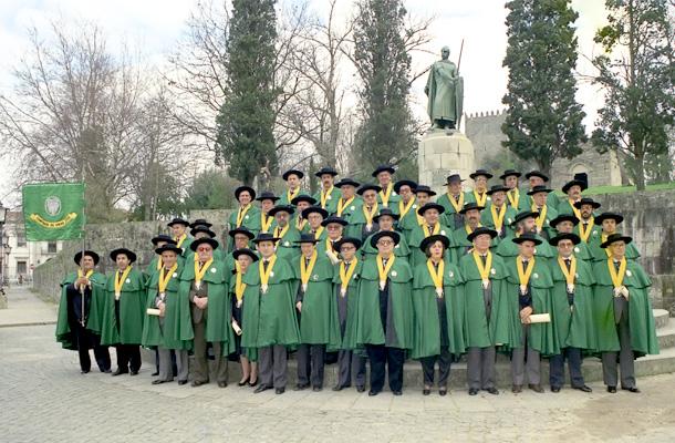 Cerimónia da 1ª Entronização, Paço dos Duques de Bragança, Guimarães, 17/02/1990
