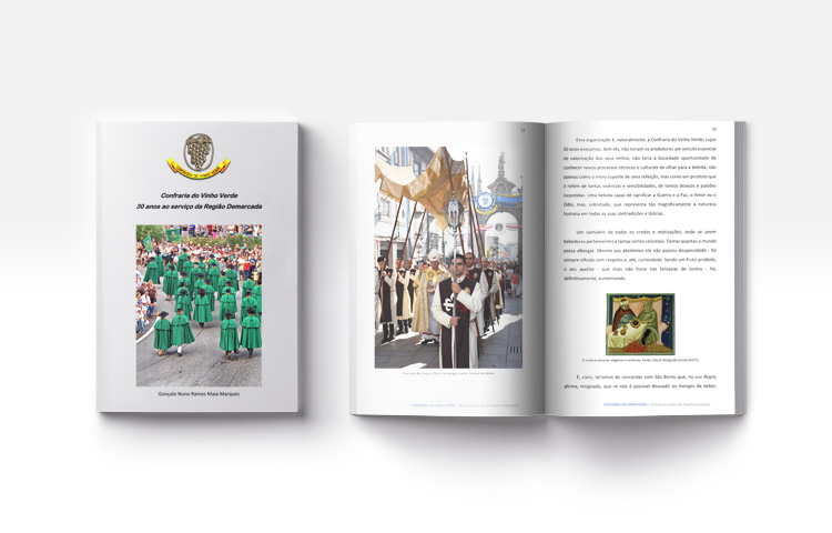 Livro Confraria do Vinho Verde, 30 anos ao serviço da Região Demarcada